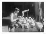 Trepanned Skulls at the National Museum Photograph - Washington  DC