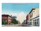 View of Nineteenth Street - Bakersfield  CA