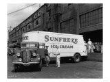 Seattle Ice Cream Co truck Photograph - Seattle  WA