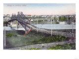 Aerial View of Lewiston Bridge - Lewiston  ID