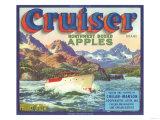 Cruiser Apple Label - Chelan  WA