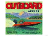 Outboard Apple Label - Chelan  WA