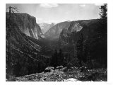 Yosemite National Park  Yosemite Valley Entrance Photograph - Yosemite  CA