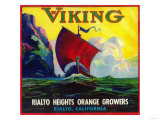 Viking Orange Label - Rialto  CA