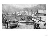 Winter Scene on the Harbor - Ketchikan  AK