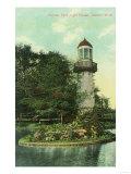 View of Palmer Park Lighthouse - Detroit  MI