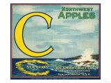 Sea Apple Label - Yakima  WA