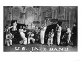 A US Navy Jazz Band