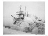 USRC Bear and SS Corwin in Nome  Alaska Photograph - Nome  AK