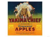 Yakima Chief Apple Label - Yakima  WA