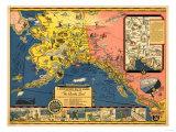 Alaska - Steamship Company Panoramic Map