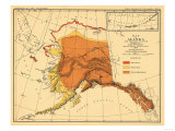 Alaska - Bear Population State Map