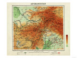 Afghanistan - Panoramic Map - Afghanistan