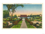 Auburn  New York - Exterior View of Hoopes Gardens Club House