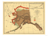 Alaska - Fox Population State Map