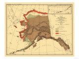 Alaska - Fox Population State Map