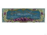 Violette De Cannes Soap Label - Paris  France