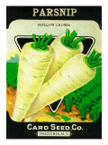 Parsnip Seed Packet