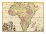 Africa - Panoramic Map - Africa