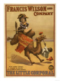 &quot;The Little Corporal&quot; Camel Egyptian Baby Theatre Poster