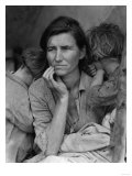 &quot;Migrant Mother&quot; Pea Picker in California Photograph - Nipomo  CA