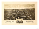 Antwerp  New York - Panoramic Map - Antwerp  NY