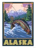 Alaska - Fly Fishing Scene