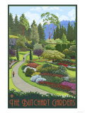 Butchart Gardens - Brentwood Bay  British Columbia  Canada