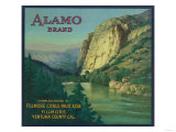 Alamo Orange Label - Fillmore  CA