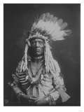 Weasel Tail Piegan Indian Native American Curtis Photograph