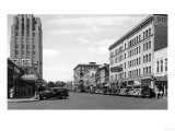 Yakima  Washington Street Scene View Photograph - Yakima  WA