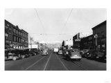 Yakima  WA View of Yakima Ave Photograph - Yakima  WA