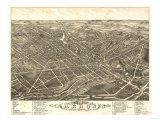 Akron  Ohio - Panoramic Map No 2 - Akron  OH
