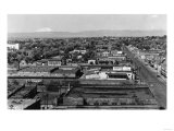 Yakima  WA Town View and Mt Adams Photograph - Yakima  WA