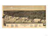 Ashland  Wisconsin - Panoramic Map