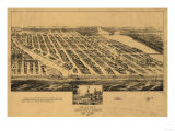 Asbury Park  New Jersey - Panoramic Map