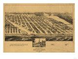 Asbury Park  New Jersey - Panoramic Map