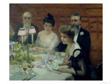 The Corner of the Table  1904