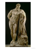 The Farnese Hercules  Roman Copy of Greek Original