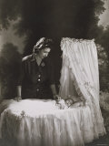 Her Royal Highness the Princess Elizabeth and Baby Prince Charles  England