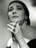Maria Callas as Floria in Tosca  the Most Renowned Opera Singer of the 1950s