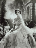 Portrait of Princess Margaret in Ballgown  Countess of Snowdon  21 August 1930 - 9 February 2002
