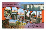 Greetings from Orange County  California