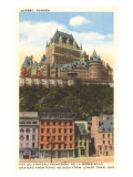 Chateau Frontenac  Quebec