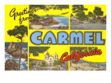 Greetings from Carmel  California