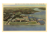 Aerial View  Naval Academy  Annapolis  Maryland