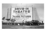 Drive-In Theatre  Los Angeles  California