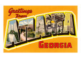 Greetings from Atlanta  Georgia