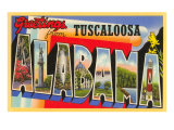 Greetings from Tuscaloosa  Alabama