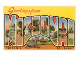 Greetings from Missouri